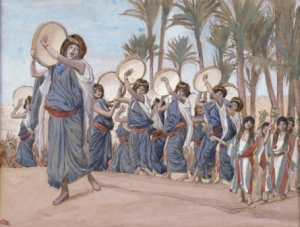 Singing and dancing in the Bible